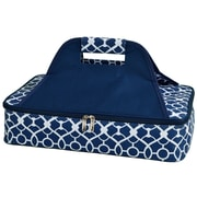 Picnic At Ascot Bold Insulated Casserole Carrier; Trellis Blue