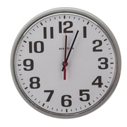 NSI Industries 12'' 110V Electric Wall Clock
