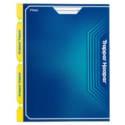 Mead® Trapper Keeper Snapper Trapper 2-Pocket Portfolio with Prongs