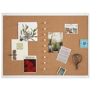 "Quartet® Cork 17"" X 23"" Bulletin Board"
