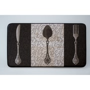 Chef Gear Cushioned French Utensils Chef Mat