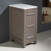 Fresca Torino 12'' W x 31.1'' H Cabinet; Gray Oak