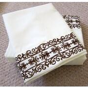 Home Sensation Soft-Luxury Queen Size Bed Sheet Set