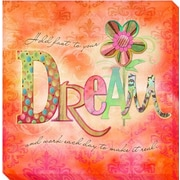Artistic Home Gallery 'Dream' by Connie Haley Graphic Art on Wrapped Canvas
