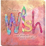 Artistic Home Gallery 'Wish' by Connie Haley Graphic Art on Wrapped Canvas