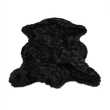 Walk On Me Animal Black Area Rug; Novelty 2'3'' x 3'8''