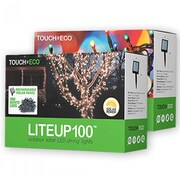 Touch of ECO Liteup 100 Solar String Lights; Multi Colored