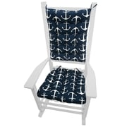 Barnett Home Decor Coastal Outdoor Rocking Chair Cushion