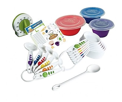 Curious Chef 17 Piece Measure and Prep Kit WYF078279203900