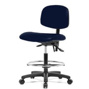 Perch Chairs & Stools 12'' Drafting Chair; Imperial Blue