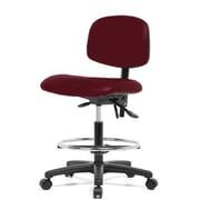 Perch Chairs & Stools 12'' Drafting Chair; Burgundy