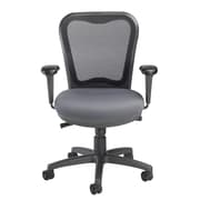 Nightingale Chairs LXO Mid-Back Mesh Desk Chair; Mystic Gray