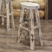 Montana Woodworks  Montana 30'' Bar Stool; Unfinished