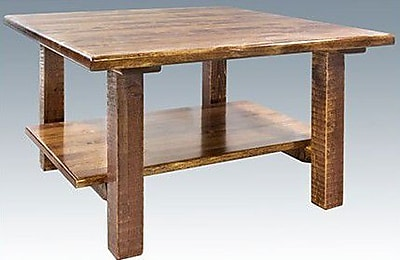 Montana Woodworks Homestead Coffee Table; Stain & Lacquer Finish WYF078278721639