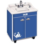 Ozark River Portable Sinks Splasher Series 26'' x 18'' Single Hand-Wash Sink