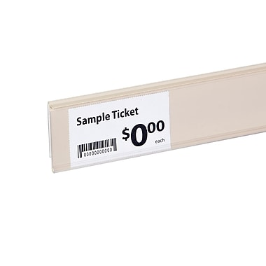 Kostklip® ClearVision® C-Channel Clip-In Ticket Moulding, 1.25
