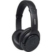 Sylvania Sbt235-black Bluetooth® Wireless Headphones With Microphone (black)