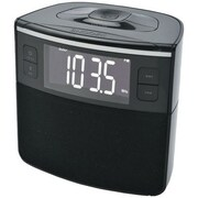 Sylvania Scr1986bt-as Bluetooth® Clock Radio With Auto-set Dual Alarm Clock & USB Charging