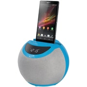 Ilive Icb103bu Bluetooth® Dual Alarm Clock Radio (blue)