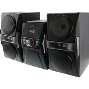 ILIVE IHB624B Bluetooth® Home Music System with FM Tuner & LED Lights