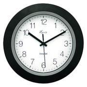 "Equity By La Crosse 40222b 10""black Insta-set Wall Clock"