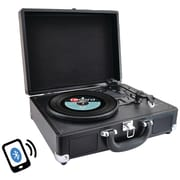 PYLE HOME PVTTBT6BK Bluetooth® Classic Turntable with Vinyl to MP3 Recording