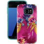 Speck 75848-5373 Samsung® Galaxy S® 7 Candyshell® Inked Case (wild Tropic Fuchsia/mykonos Blue)