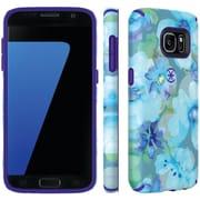 Speck 75848-c140 Samsung® Galaxy S® 7 Candyshell® Inked Case (aqua Floral Blue/ultraviolet Purple)