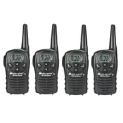 KIT Midland LXT118 18-mile GMRS Radio 4 Pack