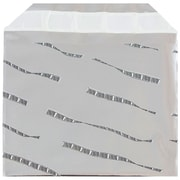 JAM Paper® Foil Envelopes with Self Adhesive Closure, 5 x 6 1/8, Booklet, Silver Film Design, 25/pack (1323265)