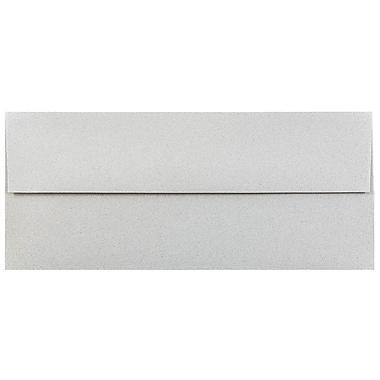 JAM Paper® #10 Business Envelopes, 4 1/8 x 9 1/2, Granite Grey Recycled, 1000/carton (900787003B)
