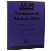 JAM Paper® Translucent Vellum Cardstock, 8.5 x 11, 43lb Purple Translucent Vellum, 250/ream (1592224B)