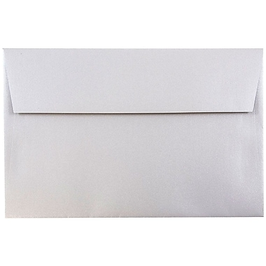 JAM Paper® A10 Invitation Envelopes, 6 x 9.5, Stardream Metallic Silver, 1000/carton (SD5390 06B)