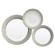 Table to go 'I Can't Believe Its Plastic' 50 Piece Dinnerware Set