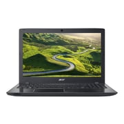 "Acer® Aspire E E5-553-T2XN 15.6"" Notebook, LCD, AMD A10-9600P, 1TB, 8GB, Windows 10 Home, Black"