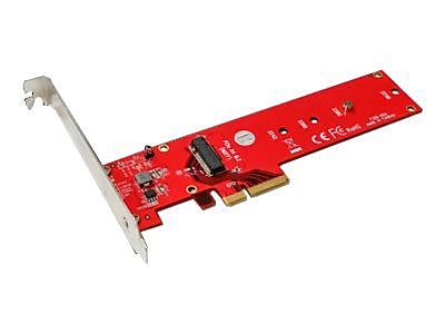 Addonics ADM2NVMPX4 Red M2 PCIe SSD Adapter for PC IM12R5527