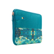 "Case Logic® Hayes Green/Blue Polyester Sleeve for 11.6"" Laptop (HAYS111KALEIDOSCOPE)"