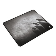 "Corsair® Anti-Fray Cloth 0.1"" x 14.2"" Textile-Weaved Black/Gray Gaming Mouse Pad (MM300)"