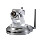 LevelOne® WCS-6020 Wireless 2MP PT IP Network Camera, Motion Detection, Gray/Silver