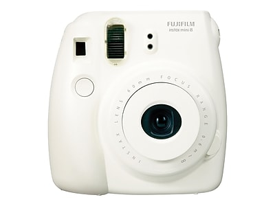 Fujifilm instax mini 8 Instant Camera, White, 2/Pack