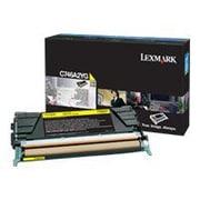 Lexmark™ Standard Yield Toner Cartridge, Yellow, 7000 Page (C746A2YG)