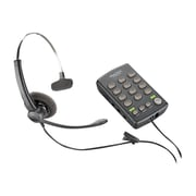 Plantronics® 204556-01 Wired Single Line Telephone System, Black