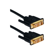 QVS® HSDVIG-5M 5 m DVI HDTV/Digital Flat Panel Ultra High Performance Cable, Black