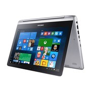 "Samsung 7 Spin NP740U3L 13.3"" 2-in-1 Notebook, LCD, Intel Core i5-6200U, 500GB, 8GB, Windows 10 Pro, Platinum Silver"
