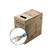 STEREN® 300-793 1000' Bare Wire UTP Plenum Cat5e Bulk Cable, Gray