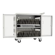 Tripp Lite White Steel 32-Device USB Charging Station Cart with Sync for iPad (CSC32USBW)