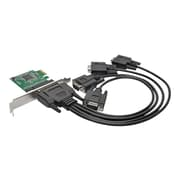 Tripp Lite PCE-D9-04-CBL Plug-in Card PCI Express Card with Breakout Cable
