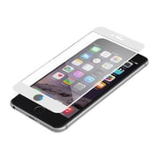 Zagg® Invisible Shield Luxe Screen Protector for iPhone 6 Plus, White (IPPBGS-WH0)