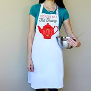 Love You A Latte Shop 100pct Cotton Ain't Nuthin But A Tea Thang Apron