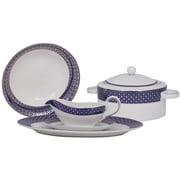 Shinepukur Ceramics USA, Inc. Empire Fine China Special Serving 5 Piece Dinnerware Set
